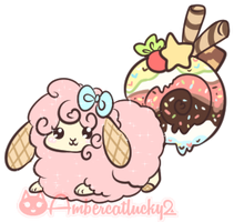 Small Parfait if you please! by Ambercatlucky2