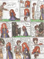 Hiccup and Merida Comic Page 3 by Different13