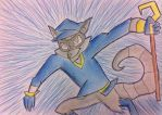Sly Cooper by Viperwings
