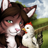 For Whom the Hen Crows by ClemiKinkajou