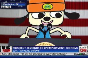 Parappa The President by blackrock3