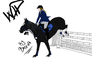 Show Jumping WIP by Baskia