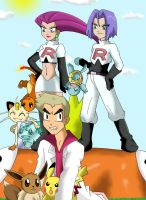 Team Rocket: Prepare for trouble, Make it double by AmyroseHaruka