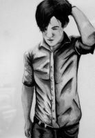Conor Oberst Water Colour by Kashmiro