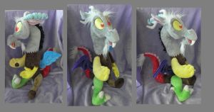Discord Plush by SillyBunnies