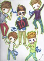 One Direction by TravelersDaughter