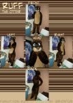 Ruff the otter fursuit by Grion