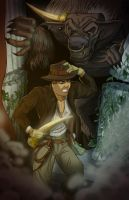 Indiana Jones and the Minotaur's Horn by KileyBeecher