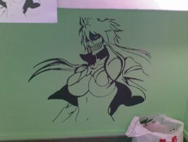 halibel stencil by gothic-frost