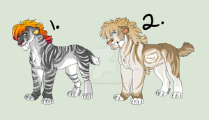 Sabertooth Tiger Adopts: CLOSED by RussianBlues-Adopts