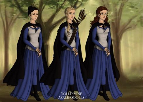 Females of the Kingsguard by ixgal97