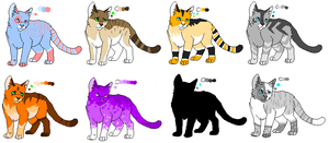 Mystery Cat Adoptables [OPEN] by Wyeth-Kitty
