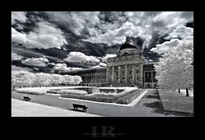 Bavarian Chancellery by infrared-dreams