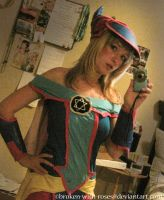 Dark Magician Girl by broken-with-roses