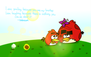 Brother by AngryBirdsStuff