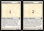 Magic Card: Enlightened Monk by JandorGr