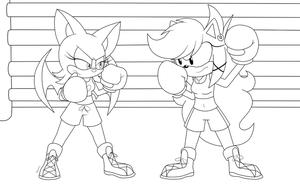 Commission Rouge vs Domestic by Domestic-hedgehog