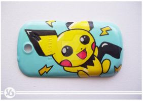 Pichu Phone Case by Viagraphics