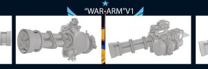 WAR-ARM V1 Pony Armament by Mauakron