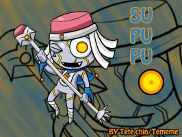 Supupu the eraser by Tete-chin
