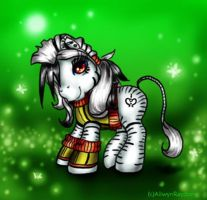 Suffle the Zebra by customlpvalley