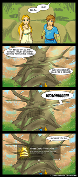 The Deku Tree's Gift [Comic + Dub] by Lethalityrush