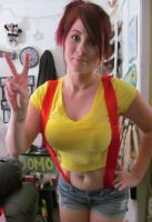 misty cosplay by bbygrlsd