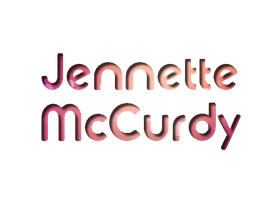 Jennette McCurdy Texto PNG by EBELULAEDITIONS