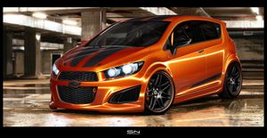 Chevrolet Aveo RS -GurnadeComp by svennardten-design
