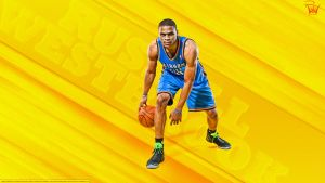 Russell Westbrook 'Why Not' Wallpaper by rhurst