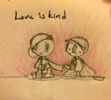 Love day 2: Love is kind by BeeTrue