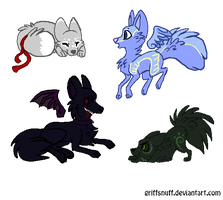 Some of my wolf friends by satme97