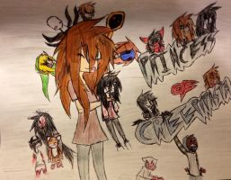 Princess Of Creepypasta by FallenAngelKayaxx5