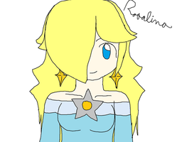 Rosalina -again- by TheTroublesomeZorua