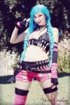 Bang!- Jinx Cosplay - League of Legends by nonsochenomedare
