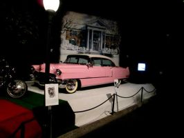 Elvis' Rose Pink Cadillac by DVanDyk