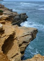 Rugged Coastline by MogieG123