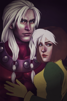 Stream - AoA Magneto and Rogue II by RizCifra