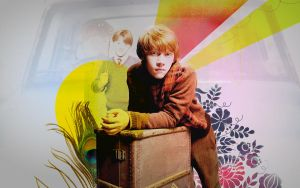 Rupert Grint Wallpaper by zammechat