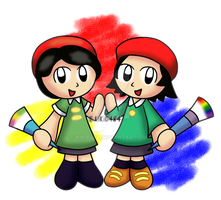 Ado and Adeleine by KiKiD484