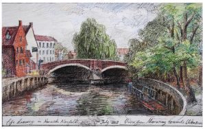 River Wensum from Norwich University of the Arts by LotharZhou