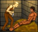 Tarzan tied up and in danger...!! by JungleCaptor