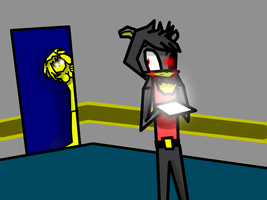 DragonLion in Five Nights In Anime by DragonLion420