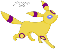 Sandai The Umbreon Base Used by KHC1000