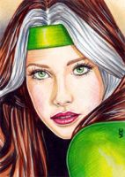Rogue Sketch Card 6 by veripwolf