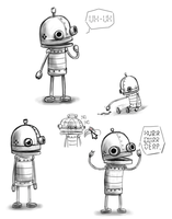 Machinarium-bot by Asakura-san