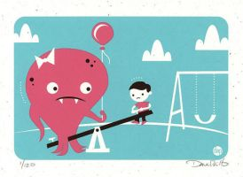 Teeter with No Totter by Montygog