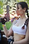 Lara Croft cosplay - Kyiv ComicCon 2 by TanyaCroft