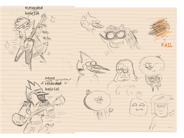 Regular Show Art Dump by sakuramiyuku523