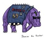 Damien the Rocker by JackSephton